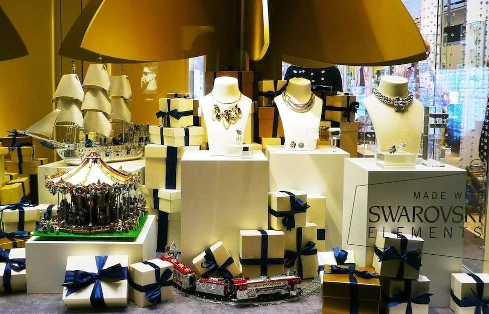 Onde comprar joias e bijuterias em Miami: Loja Swarovski em Miami e Orlando