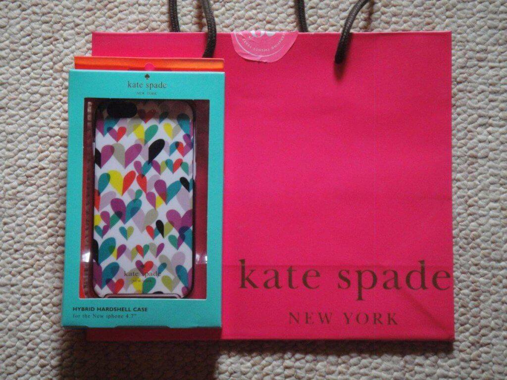 Onde comprar capinhas em Orlando: Capinha da Kate Spade