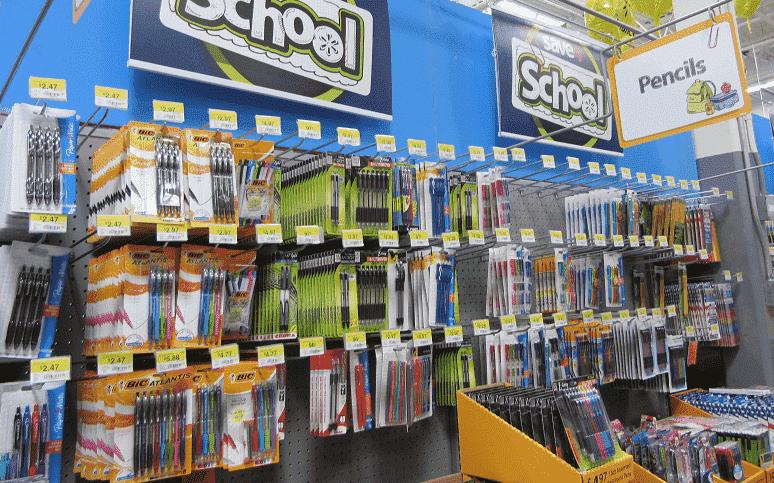 Onde comprar itens escolares e mochilas em Miami: Walmart na Florida