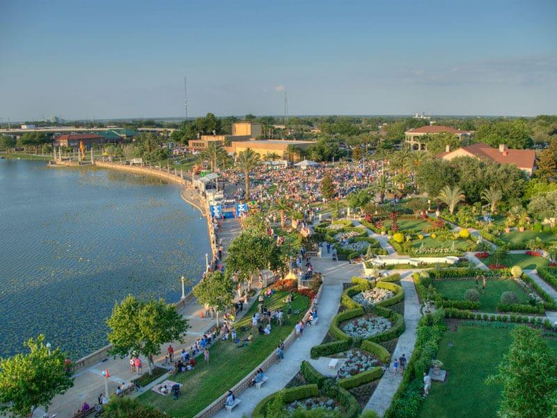 Cidades legais perto de Orlando: Cidade Lakeland na Flórida