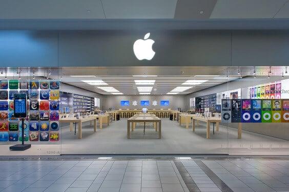 Lojas Apple em Miami e Orlando
