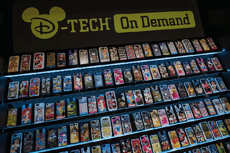Onde comprar capinhas em Orlando: Loja Tech on Demand na Disney Springs em Orlando