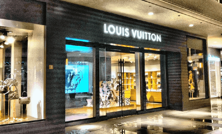 Lojas Louis Vuitton em Orlando e Miami
