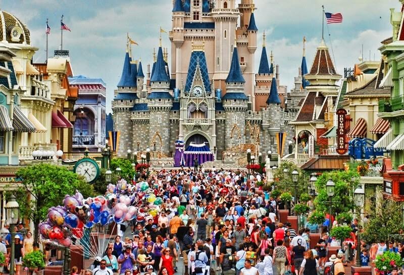 Magic Kingdom na Disney Orlando