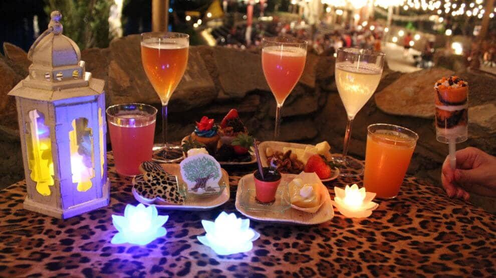 Sobremesas do show noturno Rivers of Light na Disney
