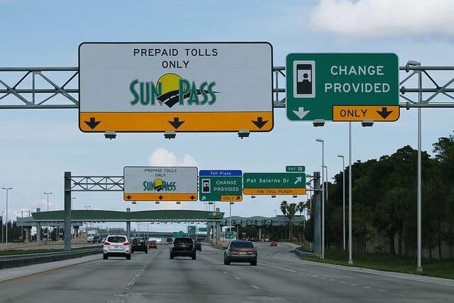 Sunpass, pedágios e pistas expressasem Orlando