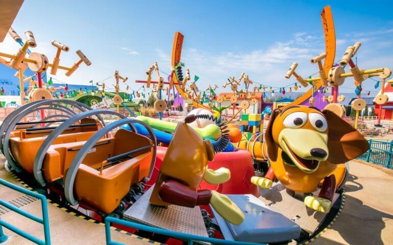 Montanha-russa da área de Toy Story (Toy Story Land)