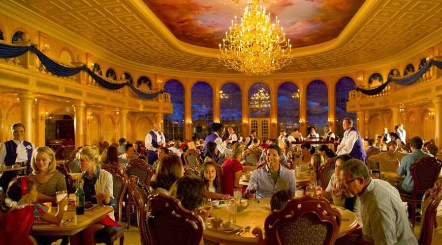 Restaurantes do parque Magic Kingdom