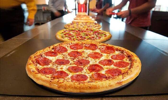 Pizzas da Cici's Pizza Orlando