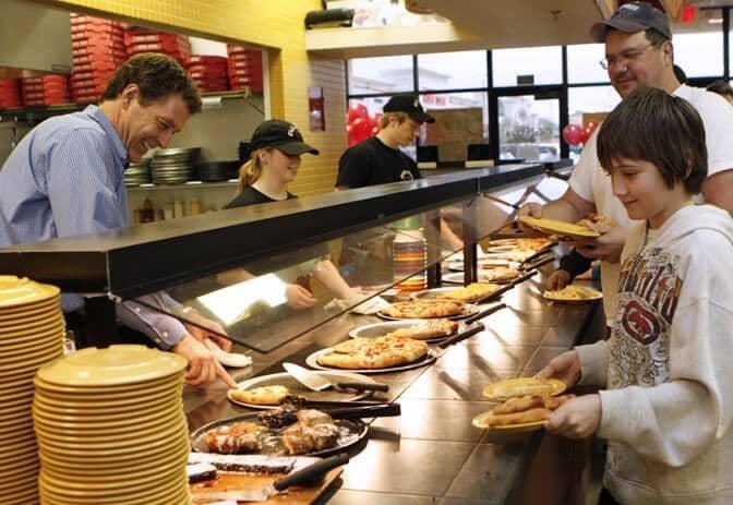 Pizzaria Cici's Pizza em Miami: Self-service da Cici's Pizza Orlando