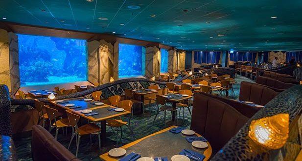 Restaurante Coral Reef no Epcot