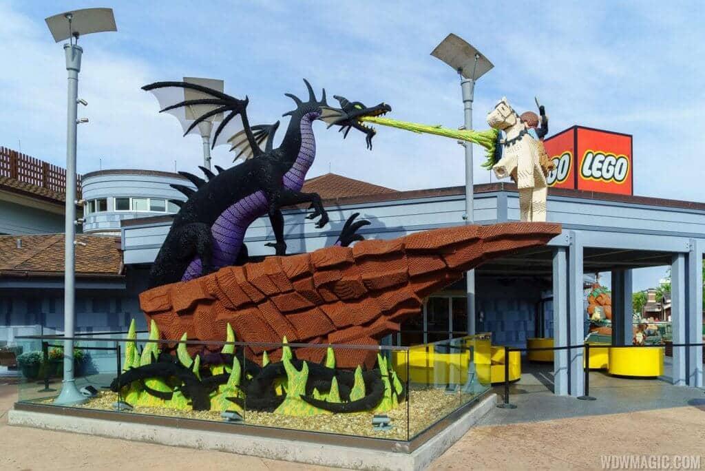 Melhores lojas de Disney Springs: Loja The Lego Store