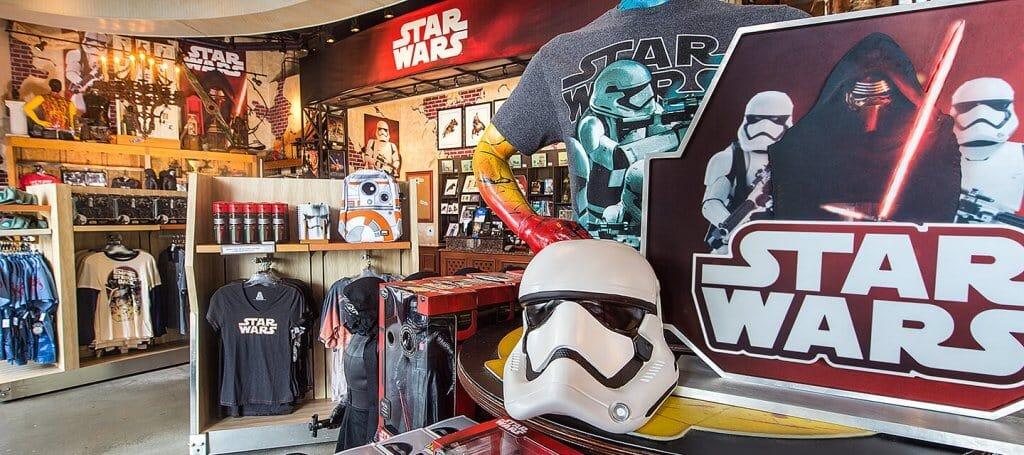 Melhores lojas de Disney Springs: Loja Star Wars Galactic Outpost