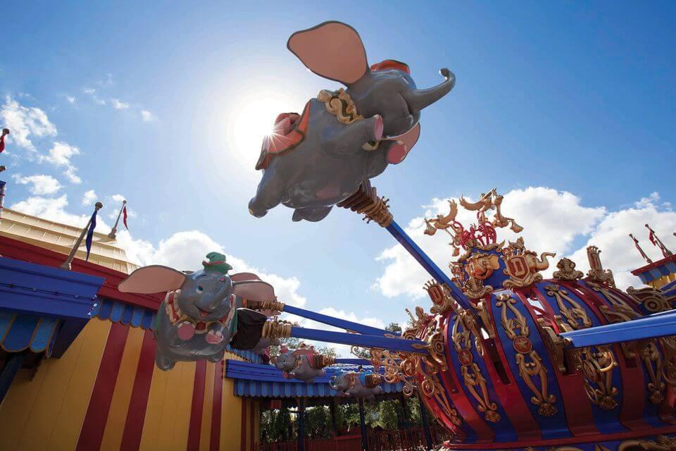 Quais brinquedos valem o uso do fast pass no Magic Kingdom: Brinquedo do grupo do Magic Kingdom