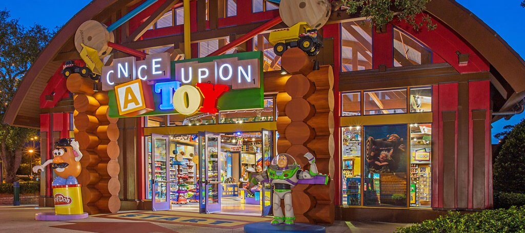 Melhores lojas de Disney Springs: Loja Once Upon a Toy