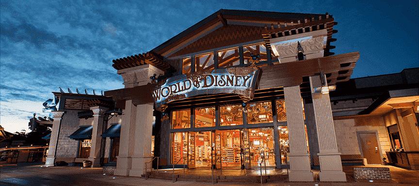 Melhores lojas de Disney Springs: World of Disney em Orlando
