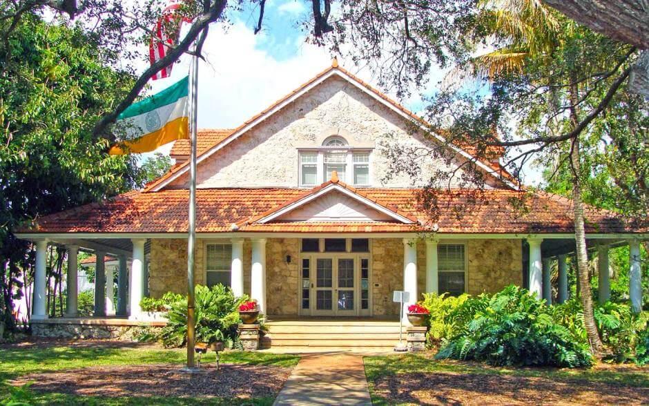5 lugares históricos e monumentos em Miami: Merrick House