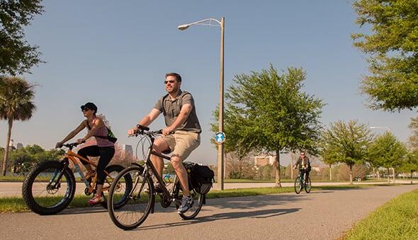 7 esportes e atividades ao ar livre em Orlando: Ciclismo em Orlando