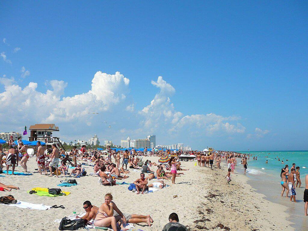 5 lugares para ver gente em Miami: Miami Beach