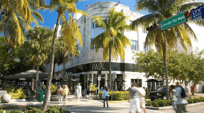 5 lugares para ver gente em Miami: Lincoln Road