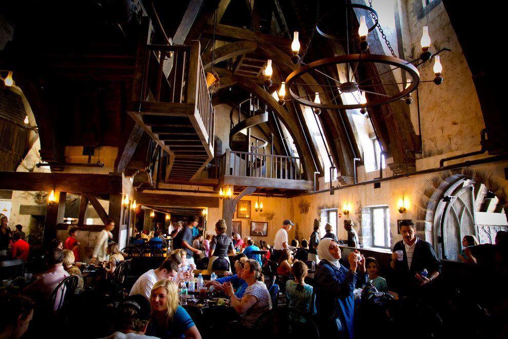 Restaurantes bons e baratos na Universal Orlando: Three Broomsticks