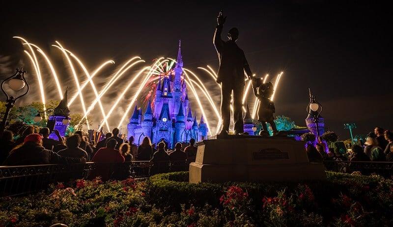 Melhores lugares para ver os shows da Disney em Orlando: Disney Magic Kingdom - Happily Ever After