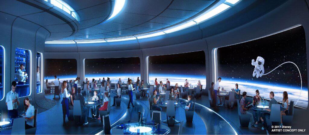 Novidades da Disney para 2019: Space Restaurant
